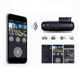 Blueskysea B1W IMX323 HD 1080P Mini WiFi Coche DVR Tablero Cámara Tablero 360 grados Gire el condensador