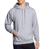 Original Mens Fall Hoodies Cotton Sports Long Sleeve Sweatshirt