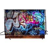 7x5ft Vinyl Graffiti Art Wall Photography Studio Prop Photo Background Backdrop