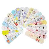 100Pcs Waterproof Breathable Cute Cartoon Band Aid Emergency Kit For Kids Children