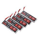 Original 5 piezas URUAV 3.8V 550mAh 50 / 100C 1S HV 4.35V PH2.0 Lipo Batería para Emax Tinyhawk Kingkong / LDARC TINY