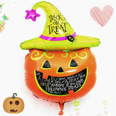 Halloween Pumpkin Head Decorative Foil Balloons Party Nice Decoration