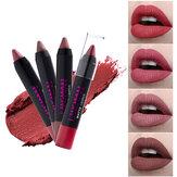 12 couleurs de bâton de lèvre stylo mat velours non bâton à la tasse