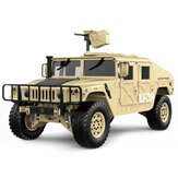 Original HG P408 Upgraded Light Sound Function 1/10 2.4G 4WD 16CH 30km/h Rc Model Car U.S.4X4 Truck without Battery Charger