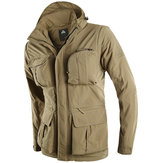 Mens Outdoor Windproof Waterproof Quick Dry Fleece Warm Outerwear Jacket