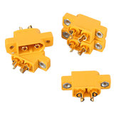 5Pcs URUAV XT60E-M Connectors Plug for RC Battery FPV Racing Drone