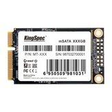 Kingspec mSATA Unidad de estado sólido interna Unidad de disco duro mSATA SSD para computadora portátil de escritorio 64/128/256 / 512GB