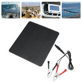 20W 12V Solar Panel For Phone Battery Charger RV Boat Camping 5V USB 2.0 Port