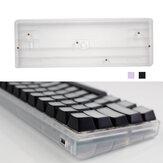 Bricolage 60% Boîtier de clavier mécanique Base de coque en plastique personnalisée pour GH60 Poker2