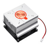 DC12V Aluminium Heatsink Cooling Fan for 20W 30W 50W 60W High Power DIY LED Lamp