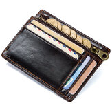 Original Men RFID Genuine Leather Vintage Cowhide Wallet Card Holder