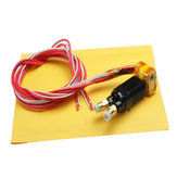 MK8 2 in 1 out Assembled Extruder Hot End Kit 1.75mm 0.4mm Nozzle For 3D Printer Part