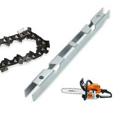 Depth Gauge Combo File Guide Tool Chain Saw Saw Chain Guide Bar Groove Cleaner