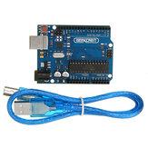 Geekcreit® Arduino Compatible UNO R3 ATmega16U2 AVR USB Carte Principale de Développement