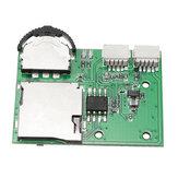 DIY Mikro-DVR VCR-Modul Mini Videorecorder unterstützen Aufnahme Wiedergabe SD-Karte für FPV Kamera Monitor