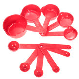 11pcs Plastic Measuring Spoons Baking Coffee Cups Tablespoon Tools Set