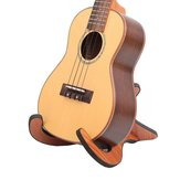 Plegable plegable de madera Stand Holder para la guitarra Ukulele Violin Mandolin Banjo