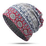 Womens Ethnic Slouchy Beanie Cap Scarf Cotton Turban