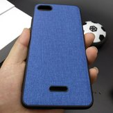 Bakeey Fabric PC+PU Leather Back + Soft TPU Bumper Protective Case for Xiaomi Redmi 6A