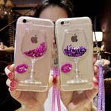 Diamond Glitter Quicksand Soft Silicone Protective Case for iPhone 6/6s Plus/7/7 Plus