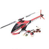 Original ALZRC Devil 380 FAST FBL 6CH 3D Flybarless RC Helicóptero Super Combo Con motor ESC Servo Gyro