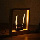 LightTimeMotionArtMarcode fotos LED Escultura óptica Escritorio Magia Decoraciones modernas