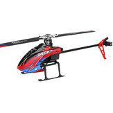 XK K130 2.4G 6CH Système 3D brushless sans hélicoptère RC Flybarless RC Système compatible avec FUTABA S-FHSS