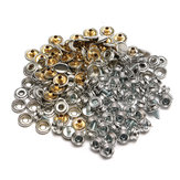 150Pcs Stainless Steel Snap Cover Button Marine Canvas Snap Fastener