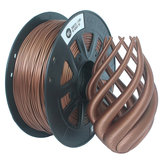 CCTREE® 1.75mm  1KG/Roll Metal Bronze/Copper Filled Filament for Creality CR-10/Ender 3/Anet 3D Printer