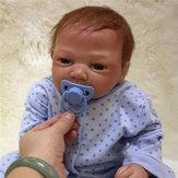 Réaliste 20 '' Reborn bébé à la main Soft vinyle poupée nouveau-né Accompagner bébé jouets