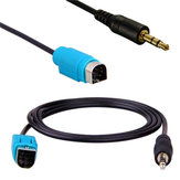 AUX 3.5MM Jack Input Converter Cable Adaptor KCE-236B for IPHONE IPOD MP3 ALPINE