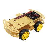 DIY 4WD Smart Roboter Auto Chassis Kits mit Geschwindigkeit Encoder