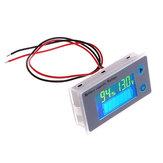 Original JS-C33 10-100V Universal LCD Coche Plomo ácido Ácido Batería Indicador de capacidad Voltímetro digital Probador de voltaje Monitor Medidor