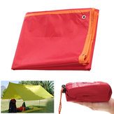 220x150CM Waterproof Camping Shelter Sunshade Canopy Ourtdoor Beach Tent Cover Picnic Mat