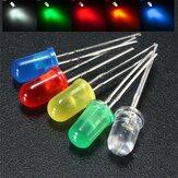 50pcs 5mm rond rouge couleur bleu blanc jaune vert diffusé LED Lampe à diode