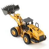 HUINA 7713-1 1/50 Scale Alloy Hydraulic Excavator Diecast Model Engineering Digging Toys