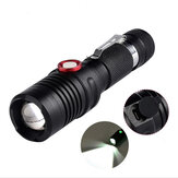 XANES 1302  T6 1500Lumens Stepless Dimming USB Rechargeable LED Flashlight