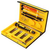 Meco 38Uds Kit de Herrameinta de Reparación de Tornillo Para Juego de Herramientas de Teléfono