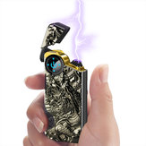 KCASA KC-G18- 2 Touch Induction Pulse Electric Lighter with Double cross Arc USB Charging Lighter BBQ Ignition