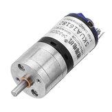 CHIHAICHR-GM25-BK37012V2000tpm01:10 Verhouding DC Motor Hoge snelheid Sterke magnetische reductiemotor