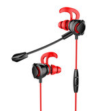 Original Wired Gaming Earphone 3.5mm Stereo 3D Surround Sound Noise Reduction Handsfree With Mic