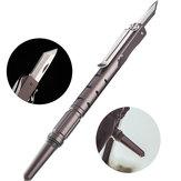 IPRee® 5 en 1 stylo tactique mini couteau couteau sécurité d'urgence Gadget EDC