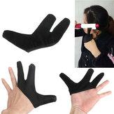 Guante de dedo resistente al calor para plancha de pelo de peluquería enderezamiento de curling