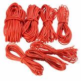 DANIU 10 Metros Rojo Cable de Silicona 10/12/14/16/18/20/22AWG Flexible Cable