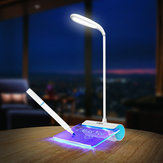 Loskii DX-L2 Rechargeable Desk Lamp LED Light with Message Board Touch Switch Best Gift