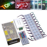 100pcs SMD5050 RGB LED Module Strip Light for Club Store Front Window Sign