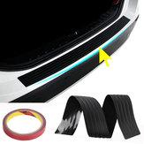 104cm PVC Rubber Bumper Trasero Sill Protector Placa Cubierta Protector Pad Pad Molding para VW / Audi / BMW SUV