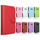 Magnetic Flip PU Leather Wallet Card Stand Case Stand For Vodafone Smart First 6 VF685
