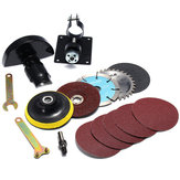 15pcs 10mm Diameter Standard Cutting Seat and Protective Cover Set for Angle Grinder