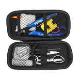 16 in 1 Vape Tool Kit For RDA RDTA RTA Atomizer Vaporizer DIY Master Tools Kit Bag